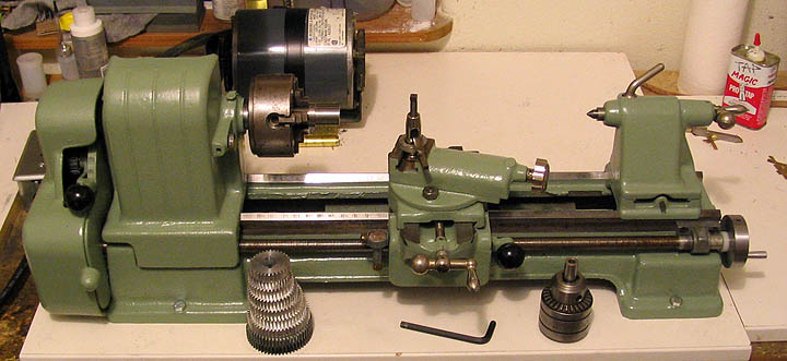Craftsman 109 Lathe Home Model Engine Machinist