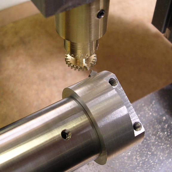interrupted cut lathe