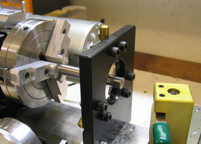 Making Counter Bores On The Taig Lathe And Mill