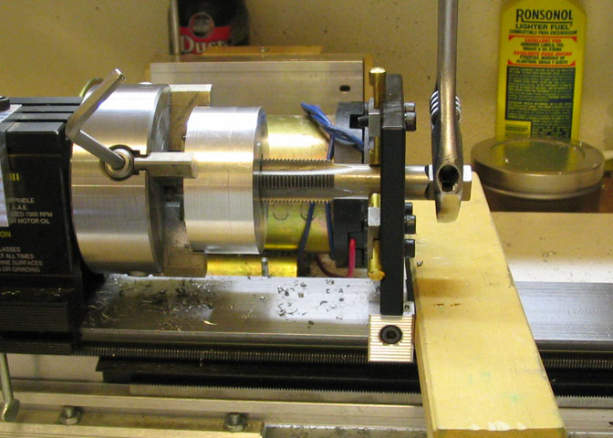 A Rotary Table For The Taig Milling Machine