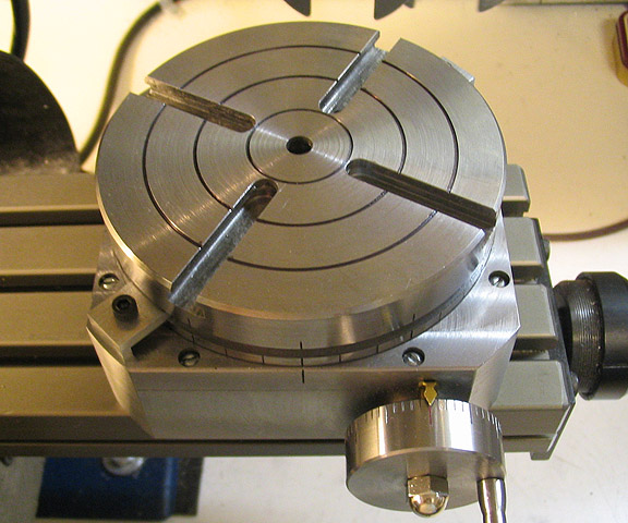 milling machine rotary table