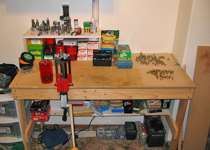 This Is Reloading Bench Design Free Woodworking Plans